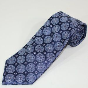 Canali Men's 100% Silk Necktie Italy Luxury Tie